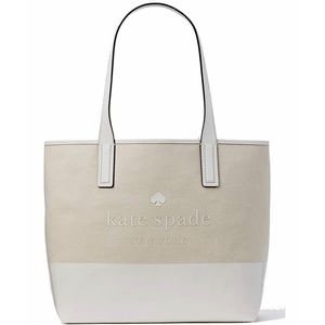 Kate Spade Large Canvas Tote